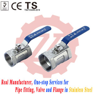 ASME B16.34 Stainless Steel Threaded 150# Ball Valve