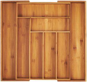ec0997155a1 China Bamboo Expandable Kitchen Utensils Drawer Organizer - China ...
