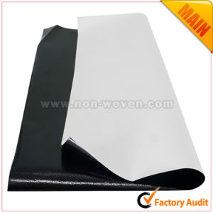 Pet Metallic Laminated Nonwoven Cloth (Black) pictures & photos