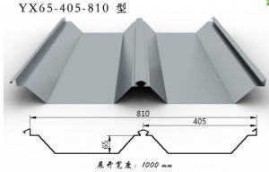 Yx65-405-810 Galvanized Roofing Sheet for Building Materials pictures & photos