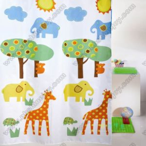 100% Polyester Printing Shower Curtain pictures & photos