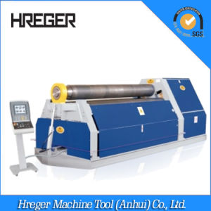 Fully Hydraulic Plate Rolls, CNC Upper Roller Plate Rolling Machine pictures & photos