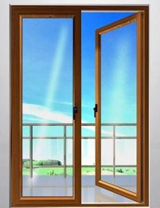 European Style High Quality Thermal Break Aluminum Casement Glass Door for Balcony (ACD-028) pictures & photos