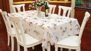 EVA\PEVA Table Cover, Flower Design pictures & photos