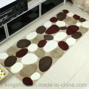 Printed Acrylic Kitchen Round Carpet Area Rug (60*120)