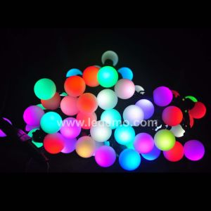 LED Christmas Decorative RGB Ball String Light (LDSB-100R5C)