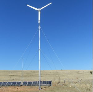 Independent Power System Wind Turbine Generator 3000W for Residential