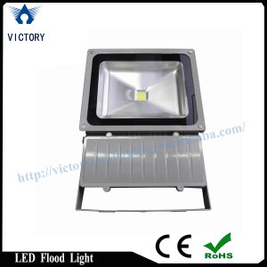IP65 Silvery Frame COB 50W LED Flood Light pictures & photos
