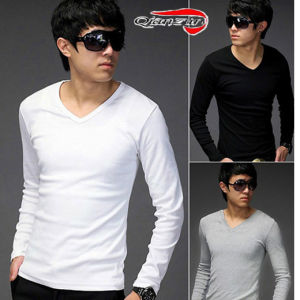 Mens Long Sleeve Shirts (LEE-100) pictures & photos