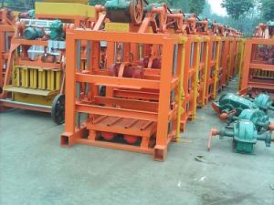 Hollow Concrete Block/ Brick Making Machine, Cement Paver Block / Brick Machine, Construction Machinery pictures & photos