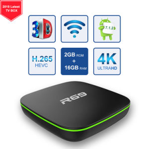 4K HD Quad Core Allwinner H3 R69 Android TV Box