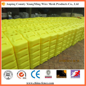 Blow Molded PE Temporary Fence Block pictures & photos