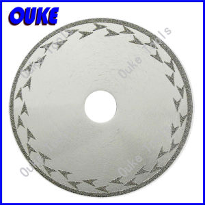Electroplated Diamond Rim Coated Cutting Blade with Protection pictures & photos