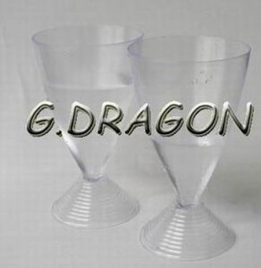 Party Tableware Plastic PS Goblet Cup (GD-G7)