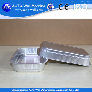 Disposable Round Sealable Smoothwall Foil Dish for Pet Food with Lid pictures & photos