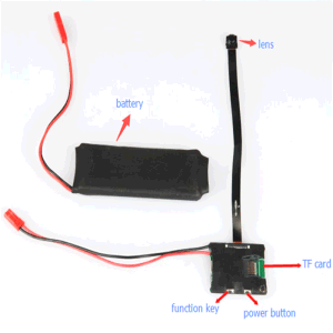 HD 1080P CCTV Wireless CMOS Video Mini Camera Module