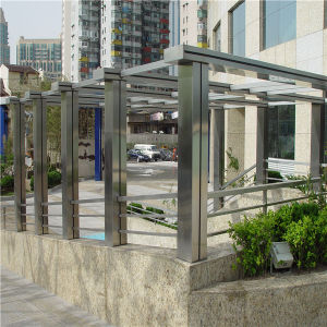 Outdoor Decorative Awning Stainless Steel
