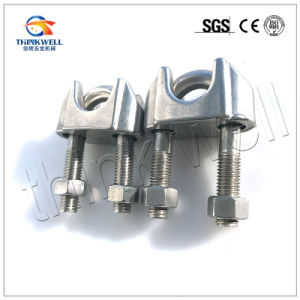 Galvanized Malleable Steel DIN 1142 Wire Rope Clips pictures & photos