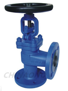 Wcb Angle Type Globe Valve Flange pictures & photos
