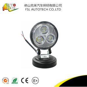 9W Round Spot LED Light for Car Vehicles pictures & photos