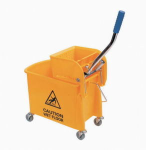 Single Bucket with Side Press Wringer