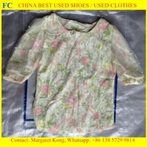 Lady, Girl Cotton Dress/Children, Lady, Man Clothing (FCD-002)