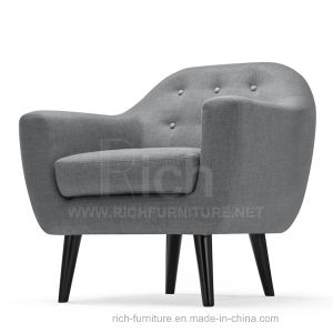 New Design Modern Leisure Sofa for Living Room (1 seater) pictures & photos