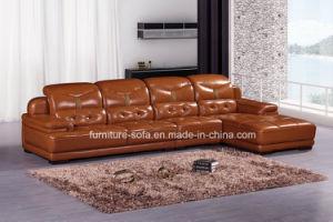 Modern Furniture Leather L Shape Sofa
