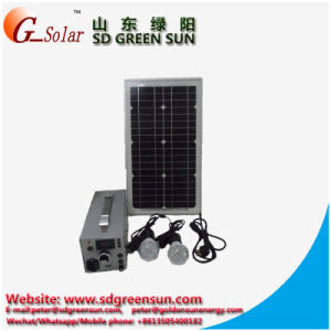 15W Mini Portable Solar System pictures & photos