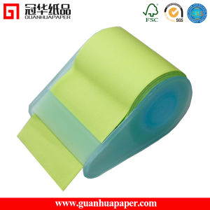 Good Quality Light Green Plastic Roll Sticky Notes pictures & photos