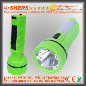 Solar 1W LED Flashlight with Desk Light for Hunting (SH-1937)