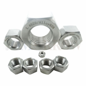 High Quality Exotic Alloy Incoloy 800ht Hex Nut pictures & photos