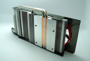 Sintered Copper Heat Pipe and Cooling Fan Computer Heatsink pictures & photos