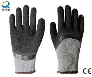 10g T/C Liner Latex 3/4 Foam Coated Work Glove pictures & photos