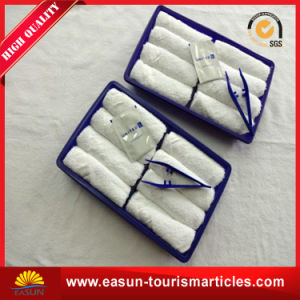Airline Disposable Rolled Cotton Towels pictures & photos