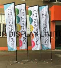 Banner Stand Pole National Outdoor National Polyester Flag Custom Print Advertising Display Teardrop/Vetical/Feather /Swooper/Beach Sports Event Pole Flag pictures & photos