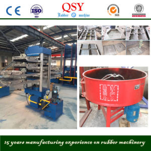 2016 World Popular Rubber Paver Making Machine / Rubber Tile Machine pictures & photos