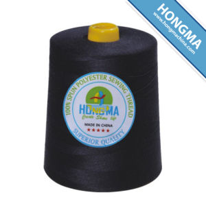 100% Polyester Sewing Thread 40/2 10000yds 1001-0017