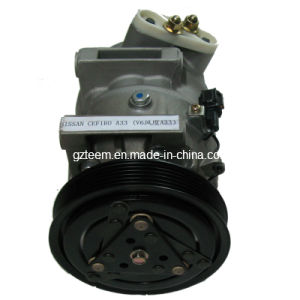 V6 Car AC Compressor for Nissan Cefiro A31