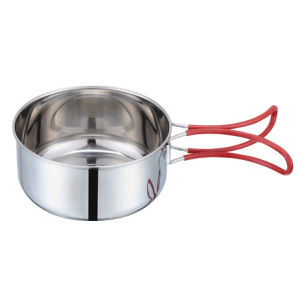 Camping Stainless Steel Bowl Pot Saucepan pictures & photos