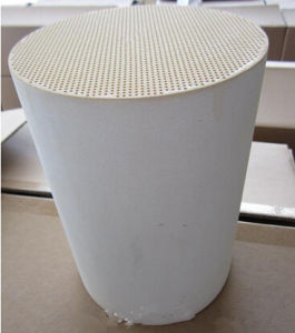 Ceramic Cordierite Diesel Particulate Filter DPF Honeycomb Ceramic for Exhaust System pictures & photos