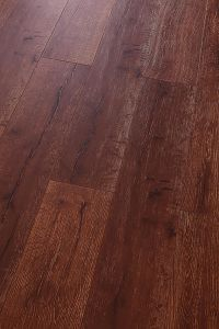 Oak HDF Laminate Floor E1 Embossed-in-Register (EIR) pictures & photos