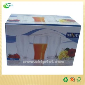 Paper Package Box for Glass Cups and Bottles (CKT-CB-143)