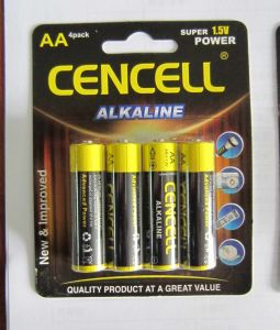 IEC Standard Alkaline Battery AA/Lr6/Am3 pictures & photos