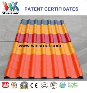 Wins ASA Synthetic Resin Roofing Sheet pictures & photos
