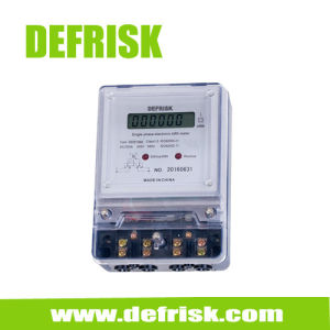 Single Phase Electronic Power Meter, Kilowatt Hour Meter, Ce Certificated