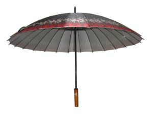 29inchx24k Anti UV Golf Umbrella (GU008) pictures & photos
