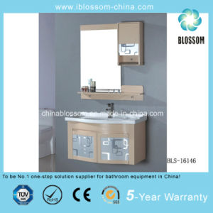 High Quality Customized PVC Bathroom Cabinet, Vanity, Furniture (BLS-16146) pictures & photos