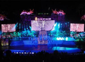 Full Color P20/20 Outdoor Strip LED Display for Music Concert