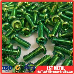 Titanium Button Head Socket Screw Bolts